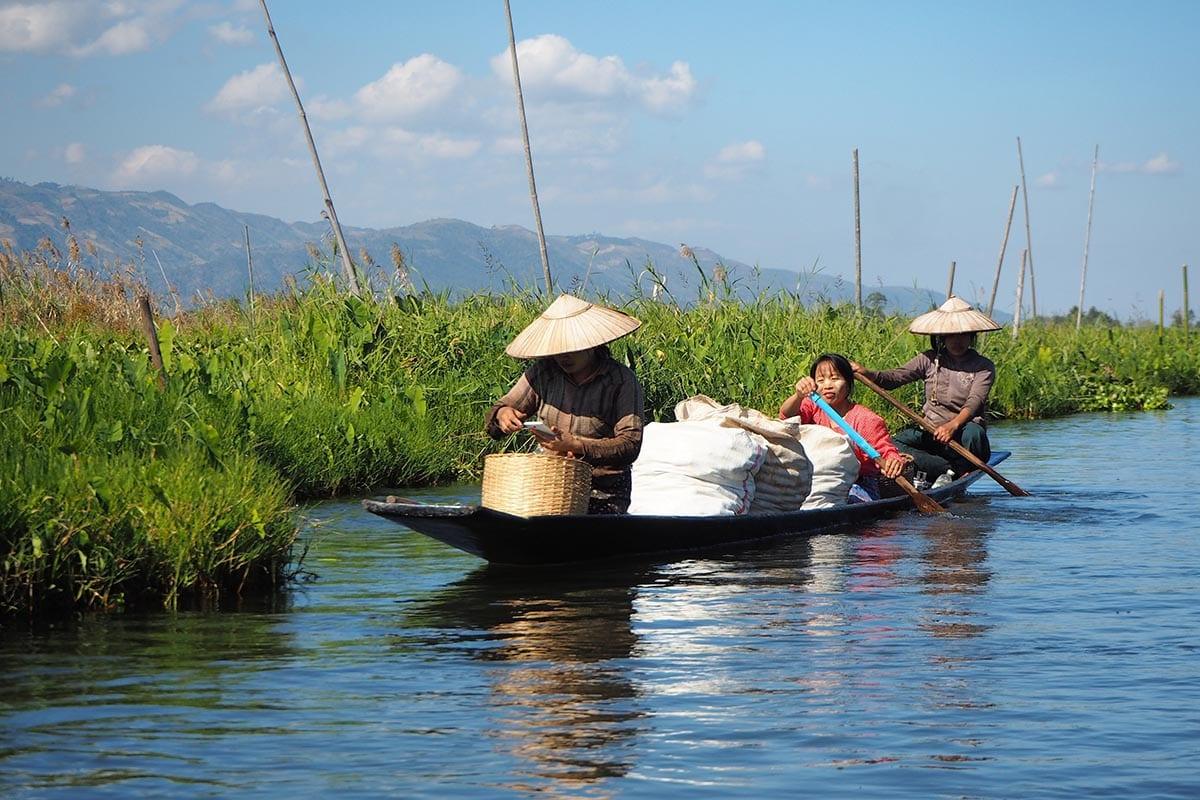 Unsere schönsten Myanmar Sehenswürdigkeiten: Inle-See