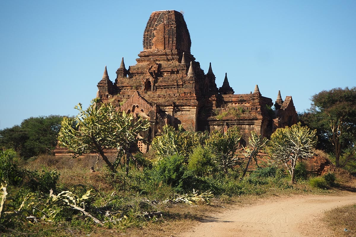 Unsere schönsten Myanmar Sehenswürdigkeiten: Tempellandschaft von Bagan