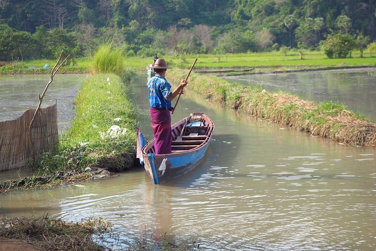 Unsere schönsten Myanmar Sehenswürdigkeiten: bei Hpa-an