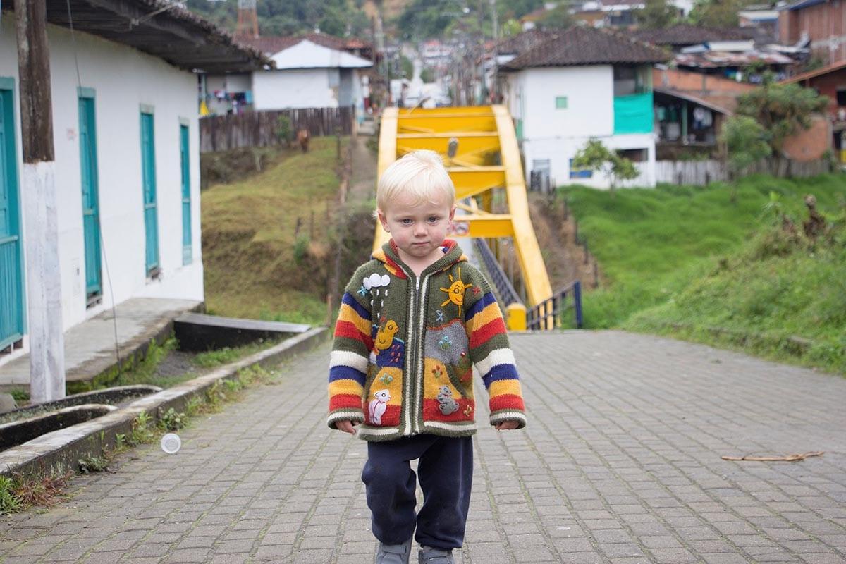 Außergewöhnliche Reisetrends 2020 mit Kindern – Kolumbien in Salento