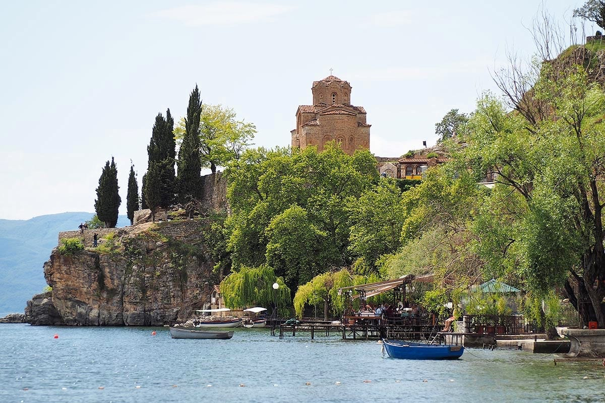 Außergewöhnliche Reisetrends 2020 mit Kindern – Mazedonien Ohridsee
