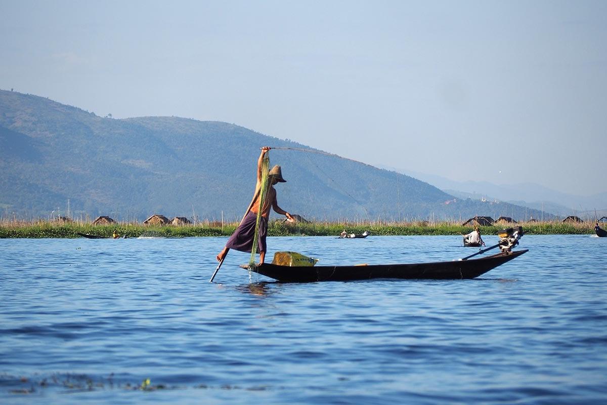 Außergewöhnliche Reisetrends 2020 mit Kindern – Myanmar Inle-See
