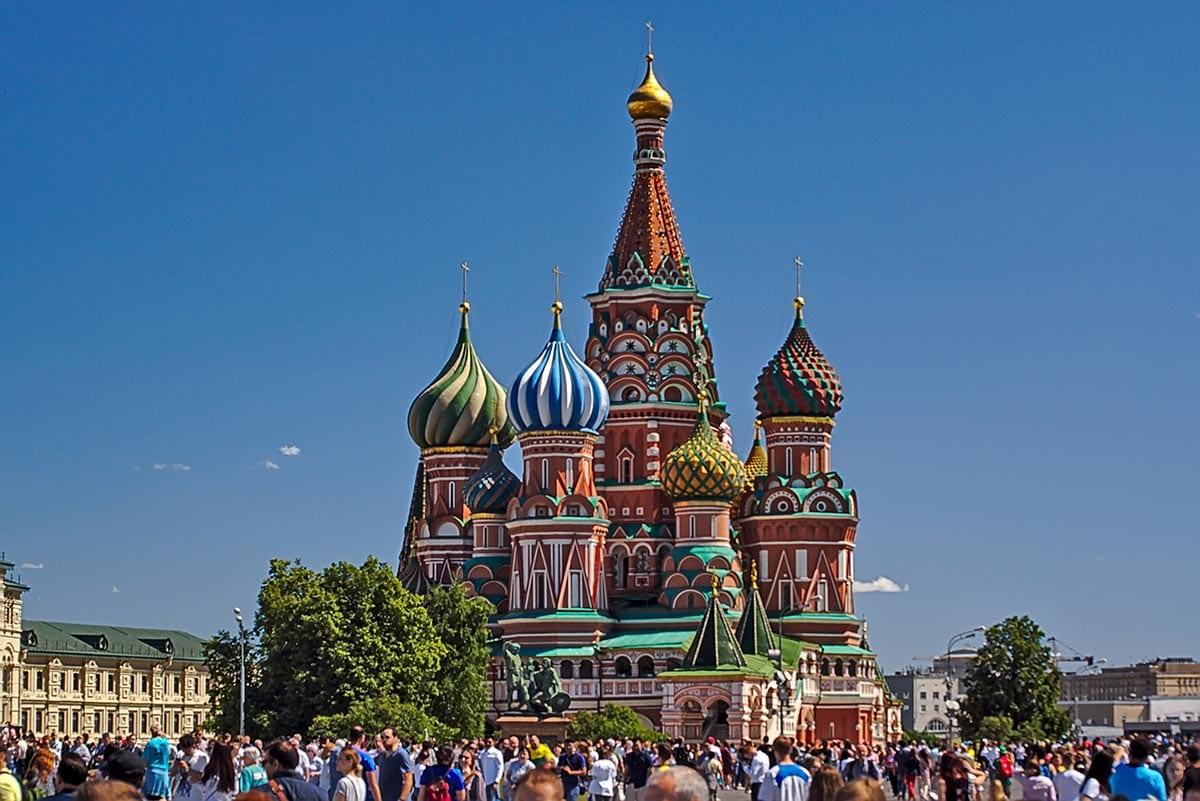Außergewöhnliche Reisetrends 2020 mit Kindern – Russland Moskau