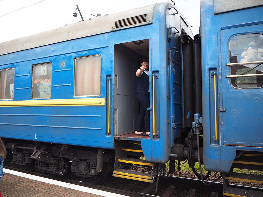 Außergewöhnliche Reiseideen in Europa mit Kindern – Zugfahren in der Ukraine