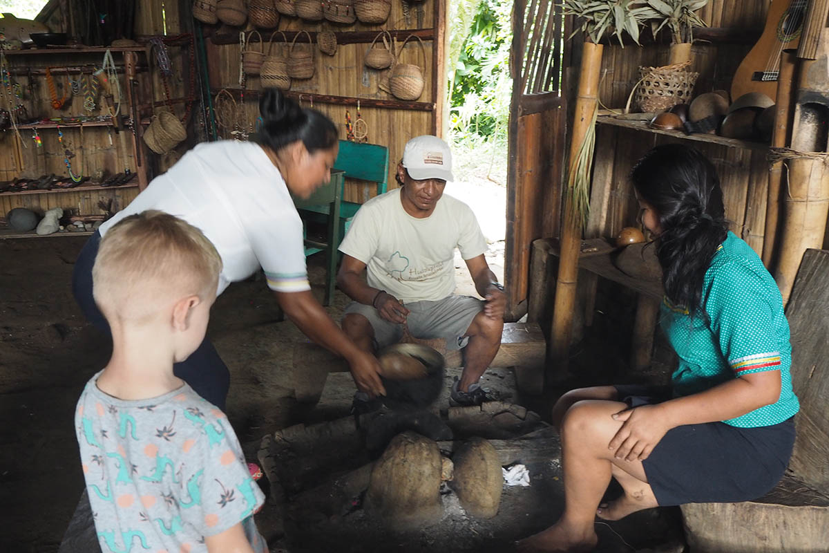 Ecuador Amazonas zu Besuch bei den Kichwas