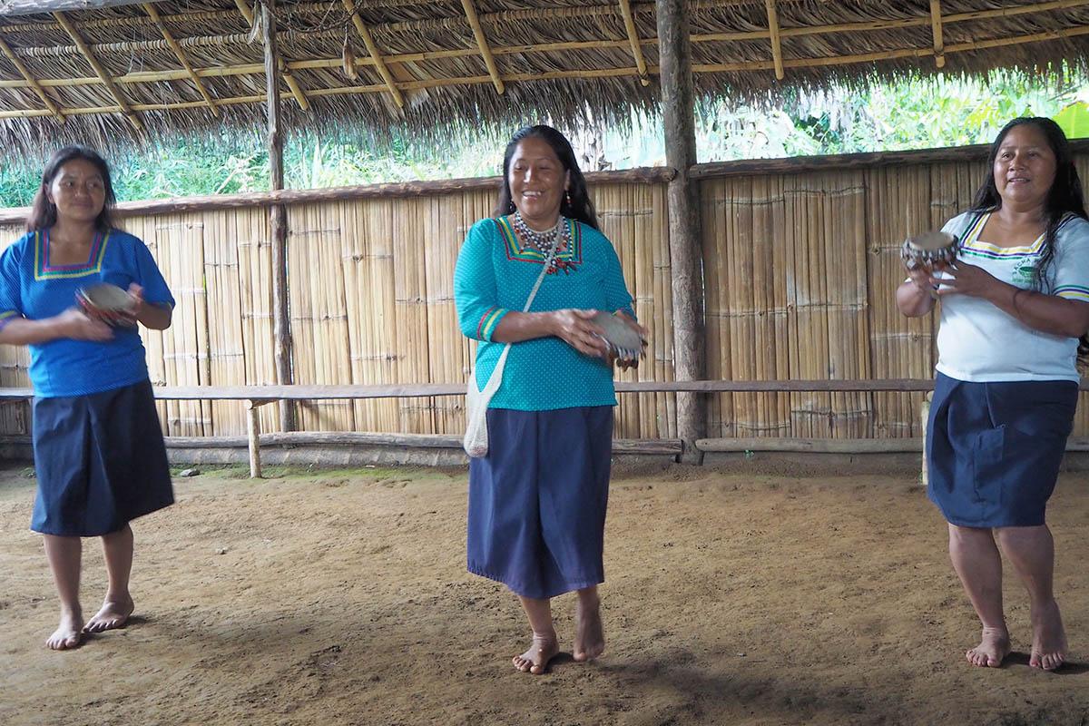 Ecuador Kichwa tanzen