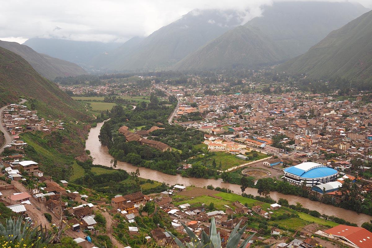 Ausblick vom Miradour Urubamba