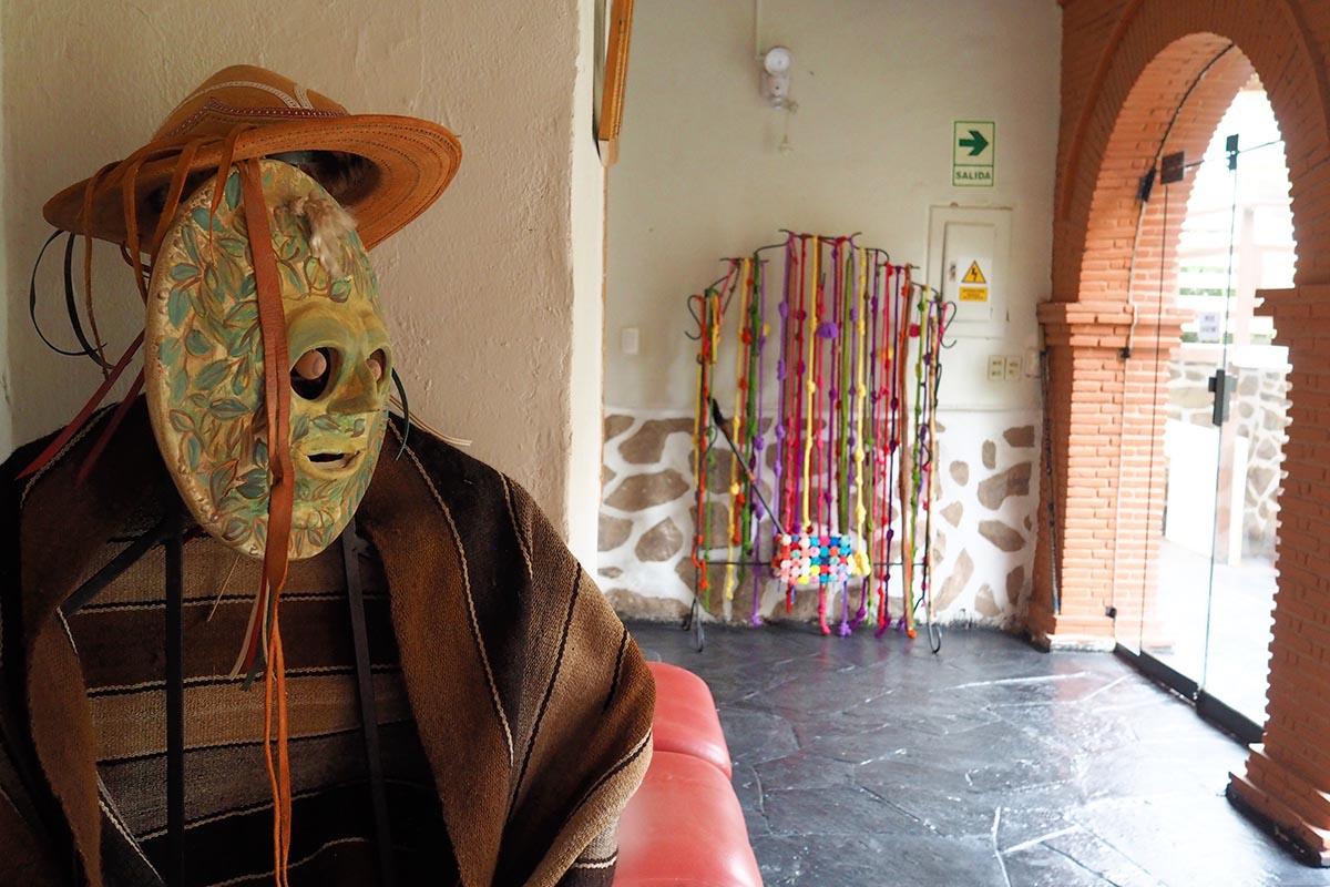 Dekorative Elemente in einer familiengeführte Pension in Ollantaytambo