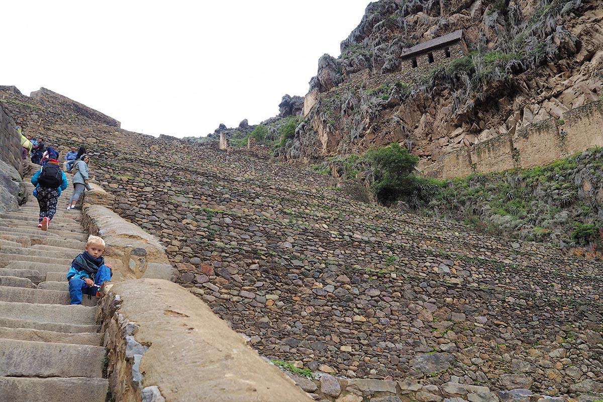 Festung von Ollantaytambo