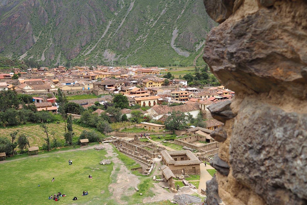 Festung von Ollantaytambo im Heiligen Tal