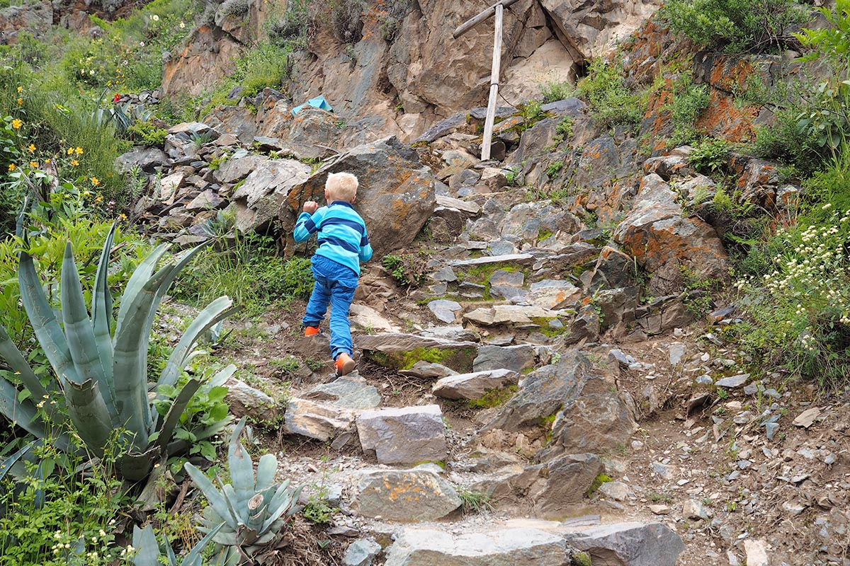 Heiliges Tal der Inka – Wanderung auf einem Berg