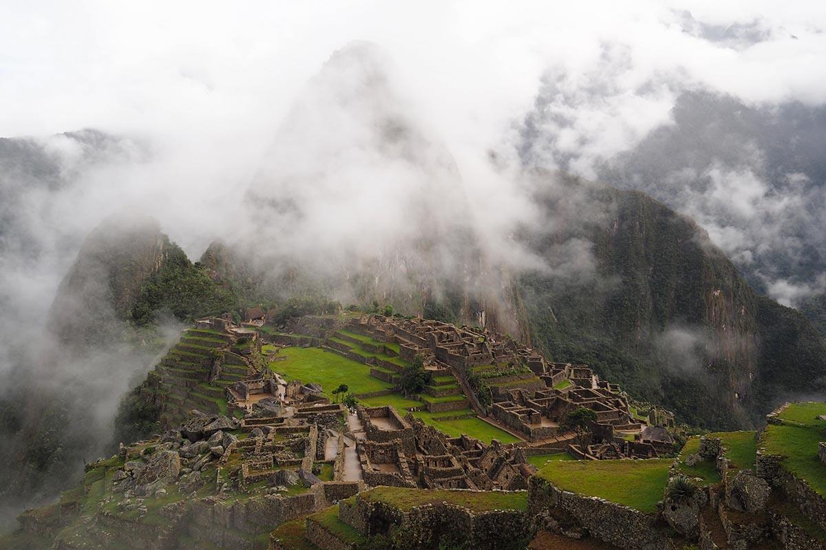 Reisebericht Machu Picchu Blick auf Inka-Stätte