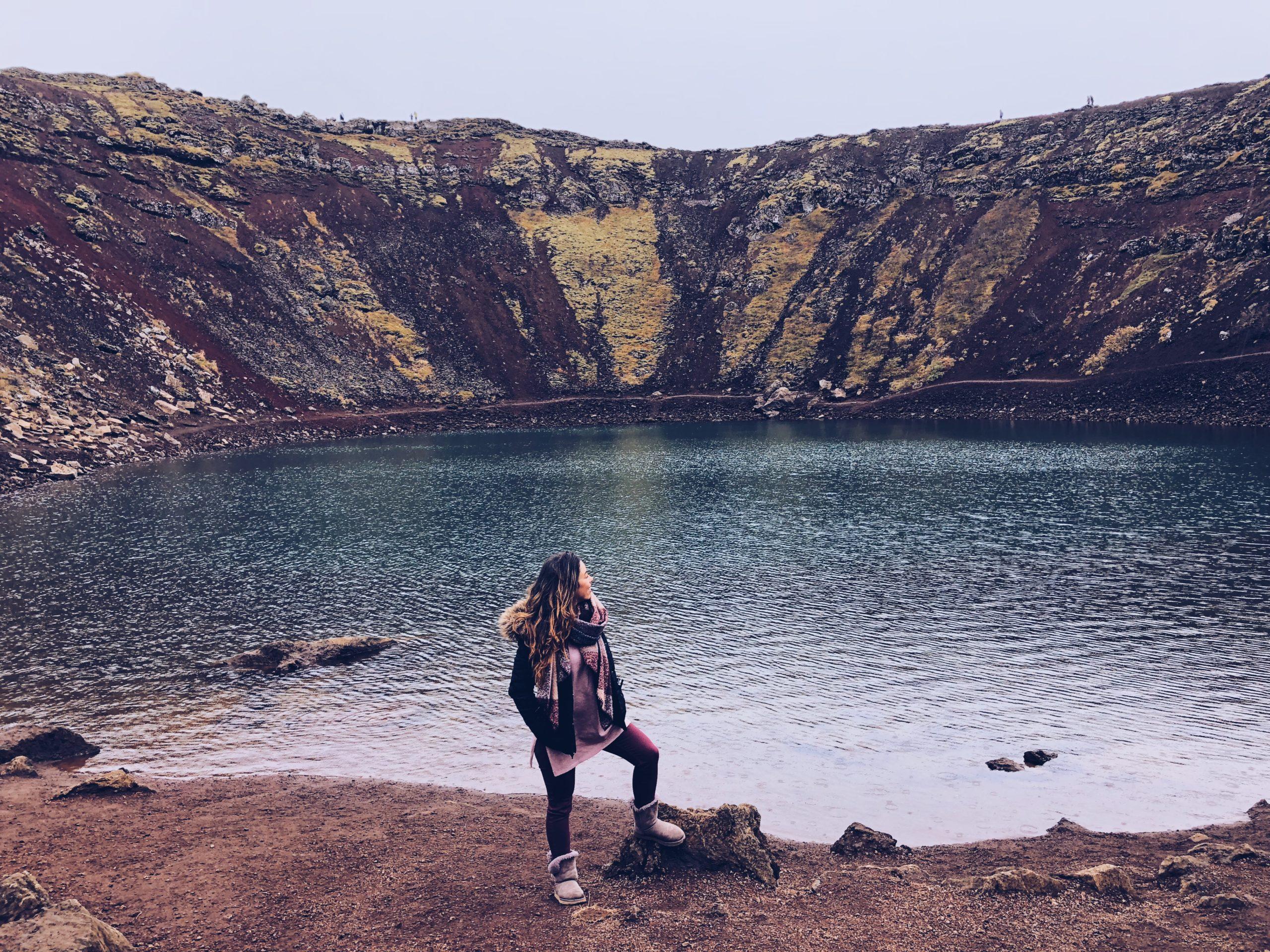 Rodtrip durch Island am See