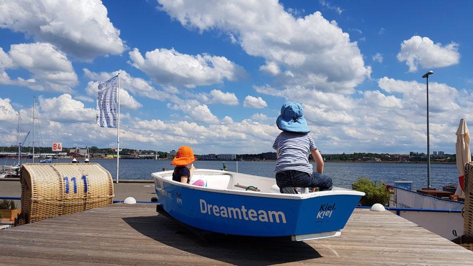 Kiel mit Kindern Segelcamp
