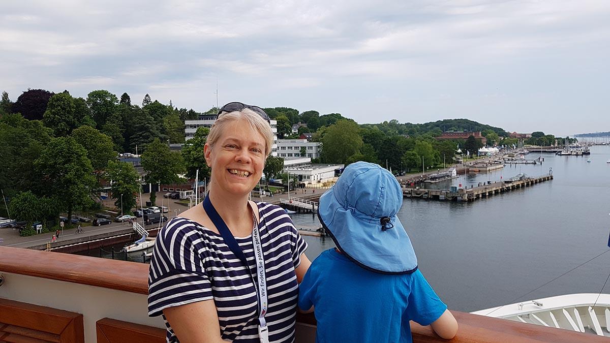 Kiel mit Kindern Schiffsbesichtigung